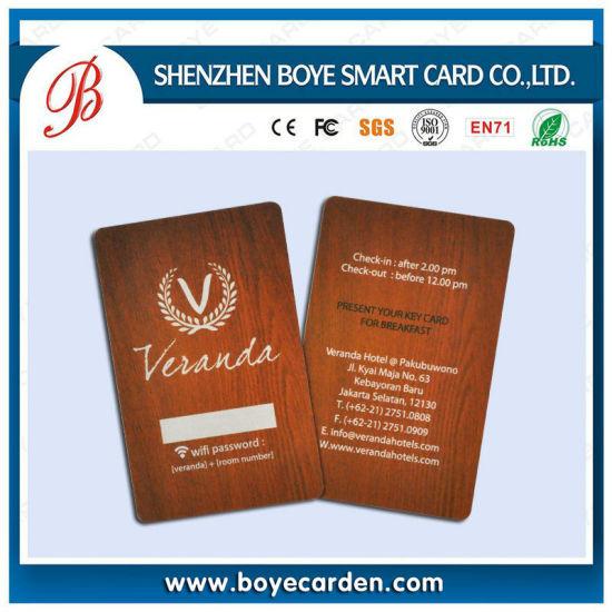 125kHz Hotel RFID Key Card for Access Control