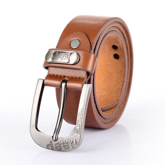 Famous Brand Leather Man Dress Formal Belt (RS-150905)
