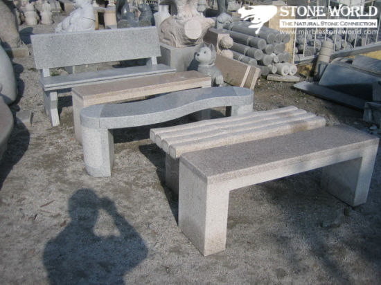 Cheap Granite Garden/Park/Plaza Stone Table and Bench/Chair for Outdoor Decoration pictures & photos