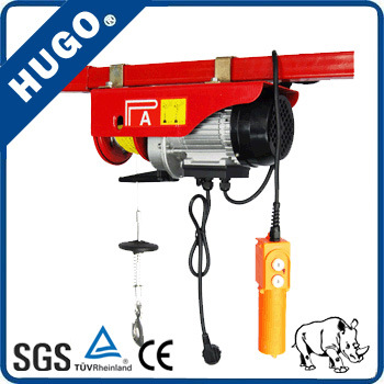 China Products 220V Mini Electric Wire Rope Hoist Motor