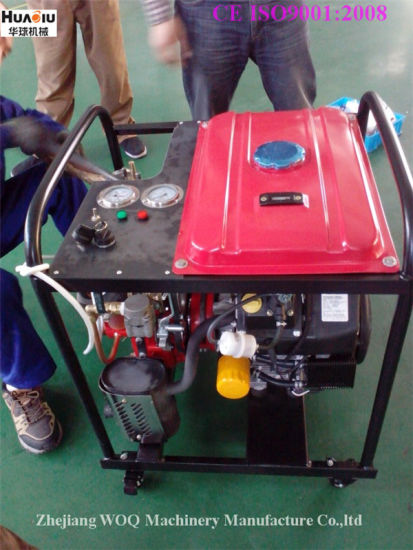 Bj-20A Portable Fire Fighting Pump with 2-Outlets and Frame pictures & photos