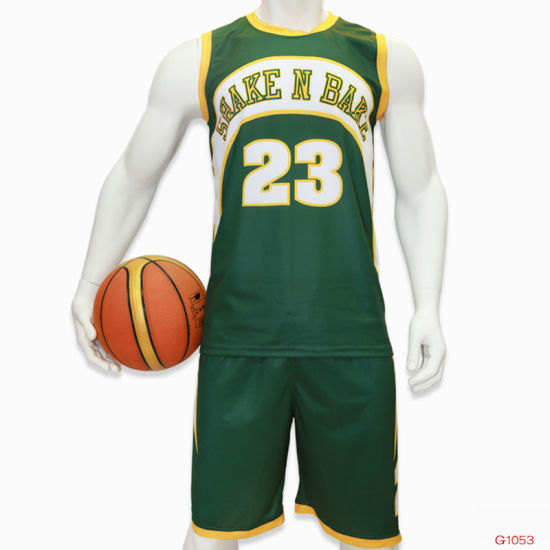 Healong Full Sublimated New Basketball Jersey pictures & photos