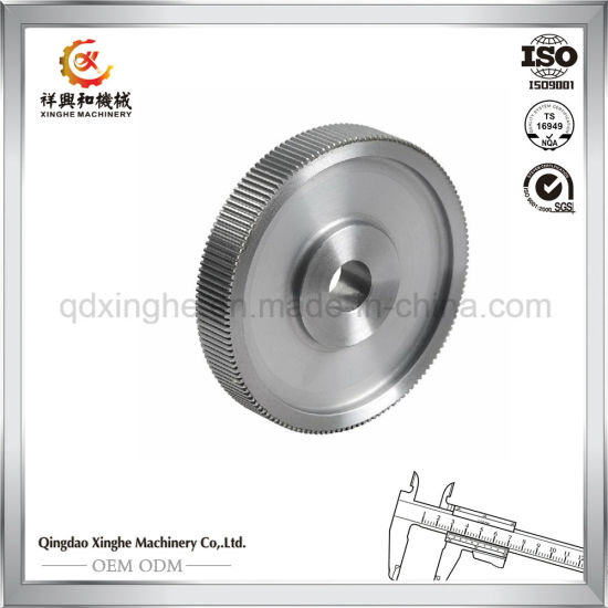 Customized Steel Pulley Lost Wax Investment Casting with Dynamic Balance pictures & photos