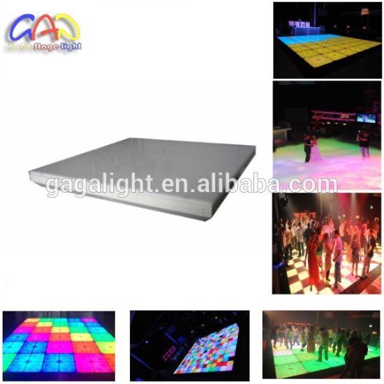china new product wedding lighting effects led dj light disco tiles