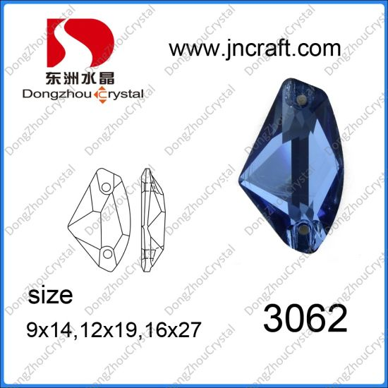 Wholesale Flat Glass in Sapphier Color (DZ-3062) pictures & photos