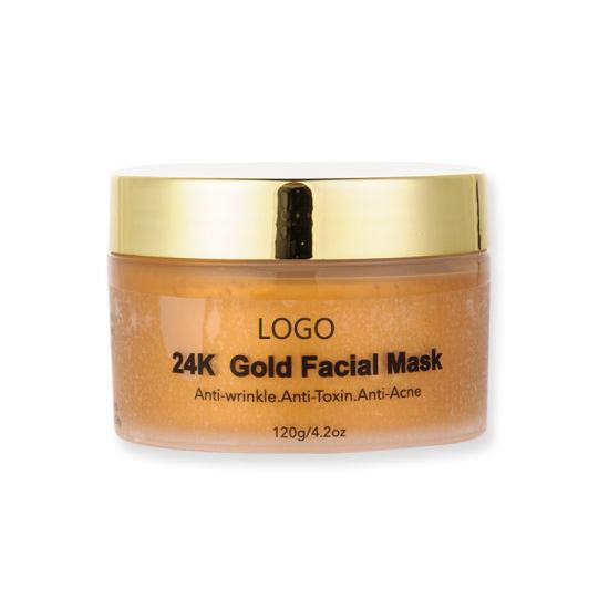OEM 24K Gold Facial Mask Super Moisturizing 24K Gold Peel-off Mask
