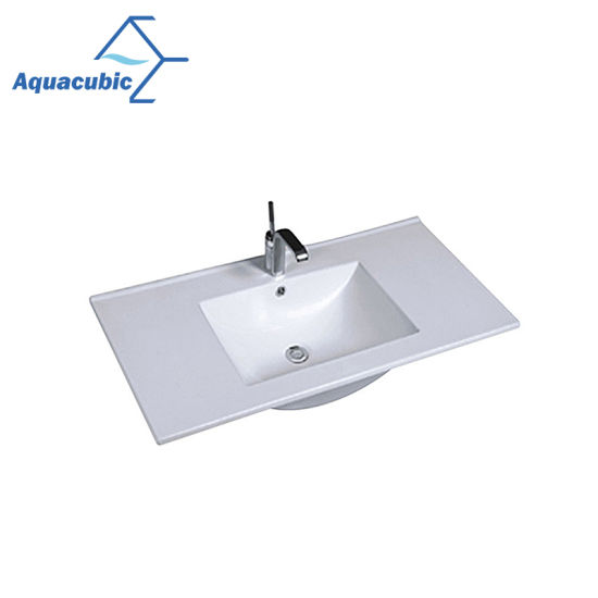 One Piece Bathroom Basin And Countertop Basin China Sink Ceramic Sink Made In China Com