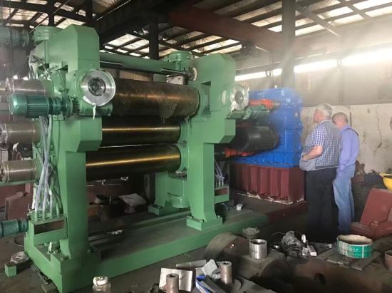 4-Roll Rubber Calendering Machine