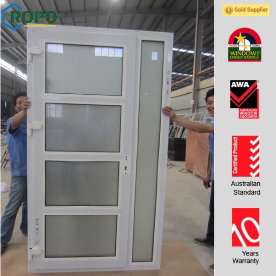 China High Quality Main Door Frosted Glass Interior French Doors