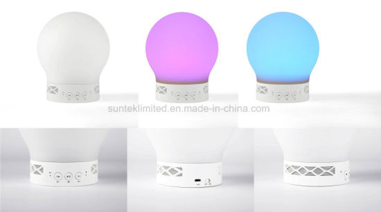 LED Bluetooth Speaker Colorful LED Music Lamp pictures & photos