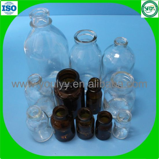 100ml Clear and Amber Infusion Bottle pictures & photos