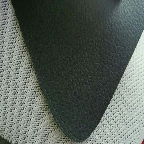 Woven Backing Car Floor Mat Material PVC Synthetic Leather