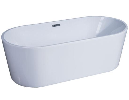 China Acrylic Plastic Bathtub for Adult Portable Bathtub - China ...