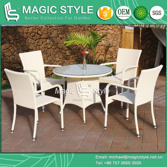 China Hot Sales Chair Garden Chair Wicker Dining Chair Rattan Dining