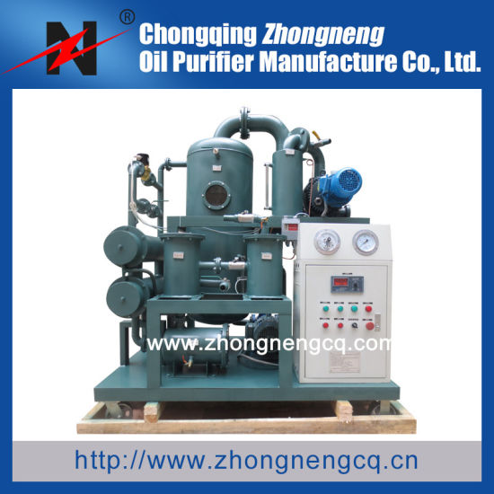 2 Stage Vacuum Transformer Oil Purifier Machine