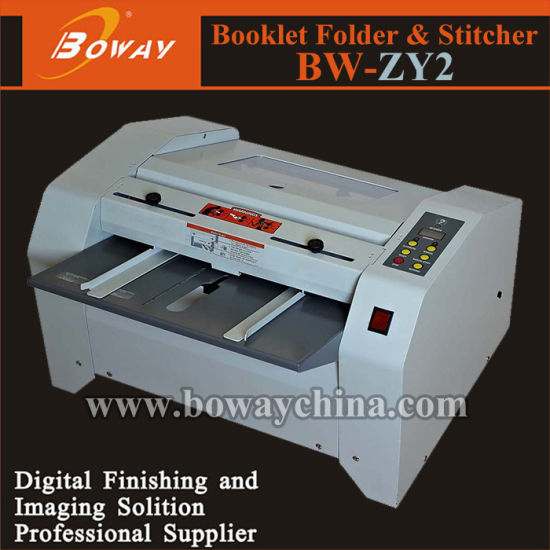 Boway Note Exercise Book Binding Stitching and Folding Booklet Making Machine (BW-ZY2) pictures & photos
