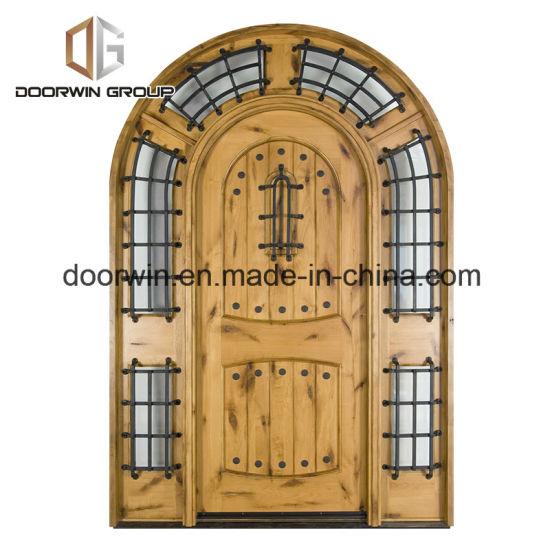 Knotty Alder Rustic Series Solid Wood Entry Door