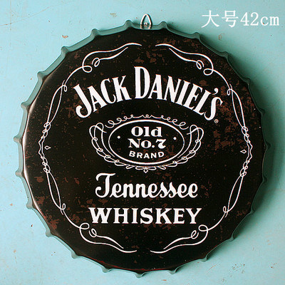 Diameter 35cm Metal Sign Bottle Cap Decorative Craft for Wall pictures & photos