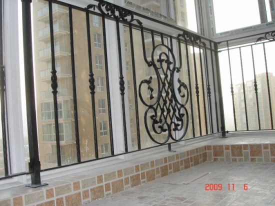 Wrought Iron Panel For Stairs And Fences European Style