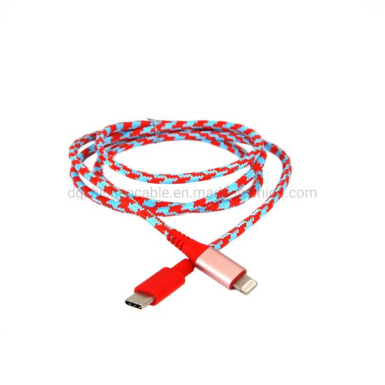 Micro & 8p to Type-C Data Cable Connect Wire Lightning Cable