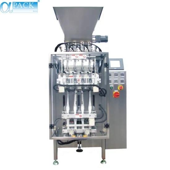 Automatic Multi-Lane Filling Sealing Packaging/Packing Machine for Sachet Bag Food/Powder/Water (MLP-04/MLP-06/MLP-08)