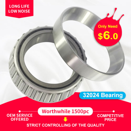 32024 Roller Bearing Motorcycle Spare Part Tapered Roller Bearing for Pressure Pump Bearing Printing Machine Bearing Car Parts Wheel Bearing