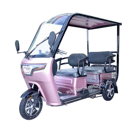 Sale Covered Electric Tricycle for Passenger Manufacturer in China