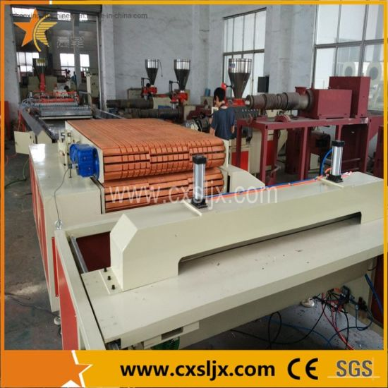 Wood Plastic Door Board Panel Plate Extrusion Production Line