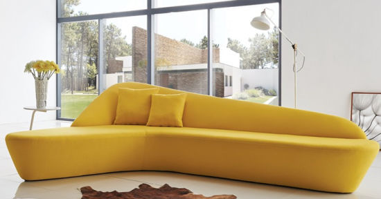 China Living Room Modern Furniture Half, Half Moon Couch Furniture