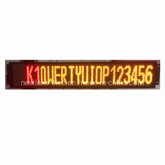 P12.5*9.5mm Two Color Front Display LED Destination Board for Bus