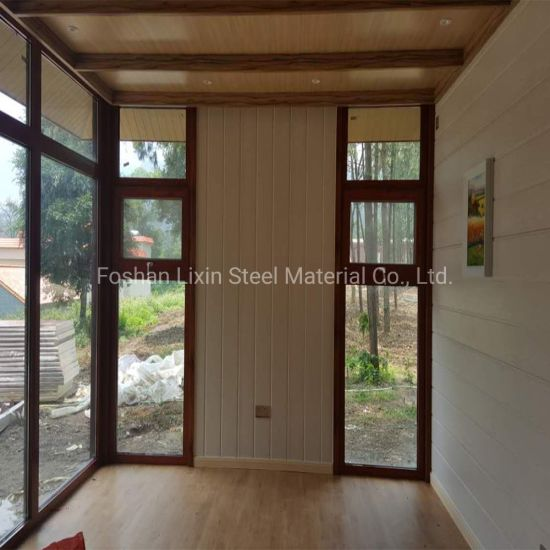 Fast Decoration Steel Prefabricated Building Vacation Prefab House