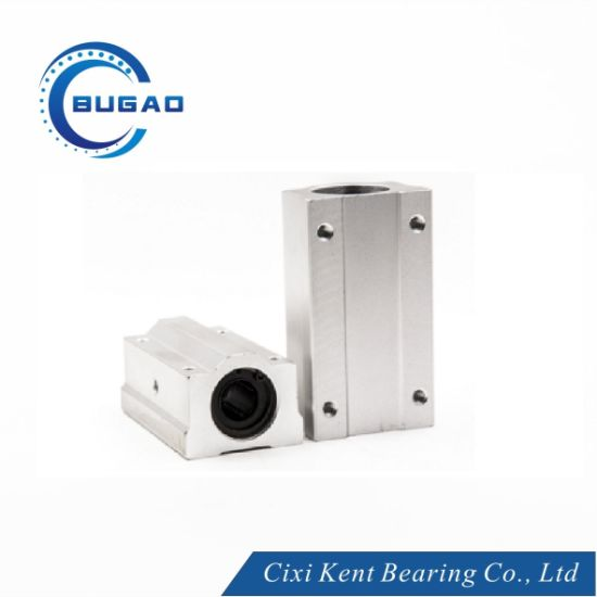 Linear Motion Ball Bearing Block Linear Slide Sc Series (Sc8uu Sc10uu Sc12uu Sc13uu Sc16uu) for Food Packaging Machine by Cixi Kent Bearing Manufacture pictures & photos