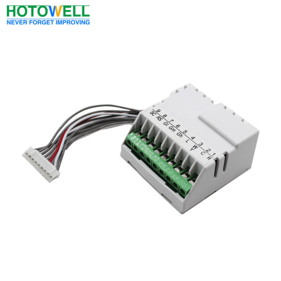 Honeywell Programmable Thermostat Wiring Diagram from image.made-in-china.com