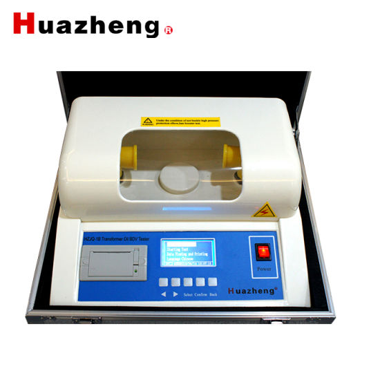 High Voltage 100kv Dielectric Strength Test Machine Transformer Oil Tester pictures & photos