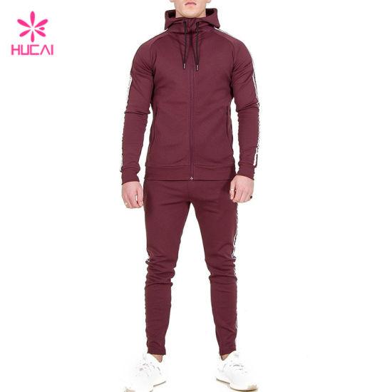 Custom Sports Track Wear Wholesale Men Jogging Suit