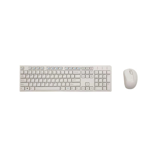 2 4GHz Wireless Keyboard and Mouse Set for Computer All in One PC Slim  Wireless Keyboard Mouse Set