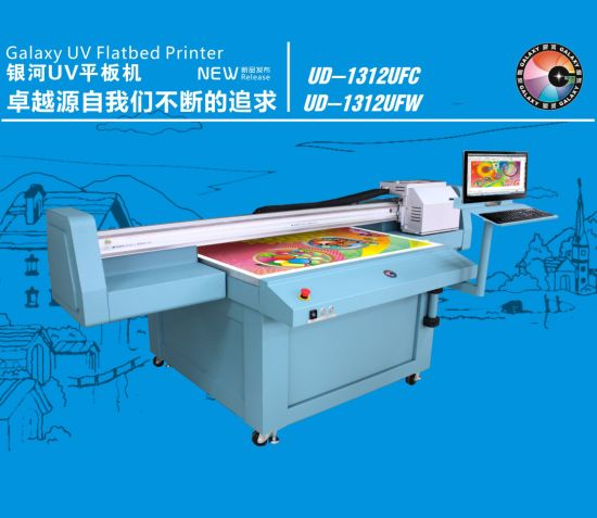 Galaxy Large Format UV Flatbed Printer Ud-1312ufw for Decoration Industry and Signage pictures & photos