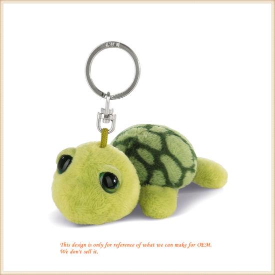 Plush Green Turtle Key Finder Stuffed Tortoise Toys