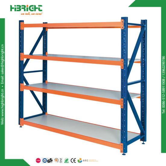 Supermarket Warehouse Storage Shelves Bolted Pallet Rack pictures & photos