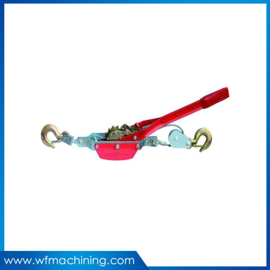 High Strength Hand Operate Ratchet Cable Puller Machine Wire Rope Tightener in Cable Grips