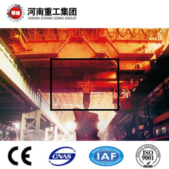 YZ Type 75/20~160/40t Four Beam Casting/Foundry Overhead