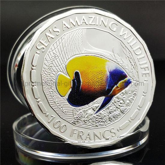 Raw Copper Metal 3D Effect Challenge Souvenir Coin