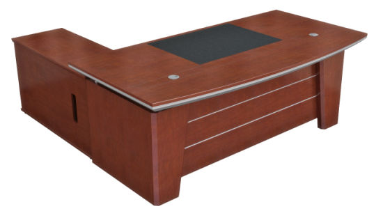 Classic Furniture MDF Veneer Table Top Painted Finished Executive Boss Desk