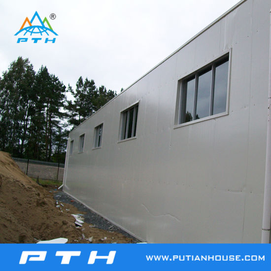 CE BV Approved Prefabricated Steel Structure Factory pictures & photos