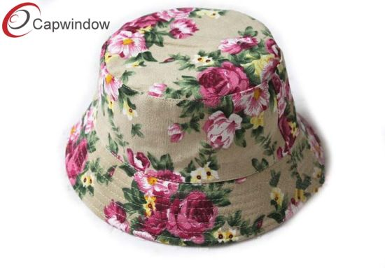 Flower Style with The Beautiful Bucket Hat pictures & photos
