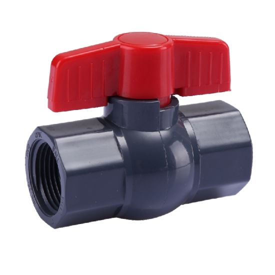 Era UPVC Valves and Fittings Octagonal Compact Ball Valve Pn10 (F1970) with NSF-Pw & Upc