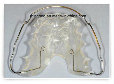 Wrap Around Hawley Retainer Appliance From Minghao Shenzhen Dental Lab