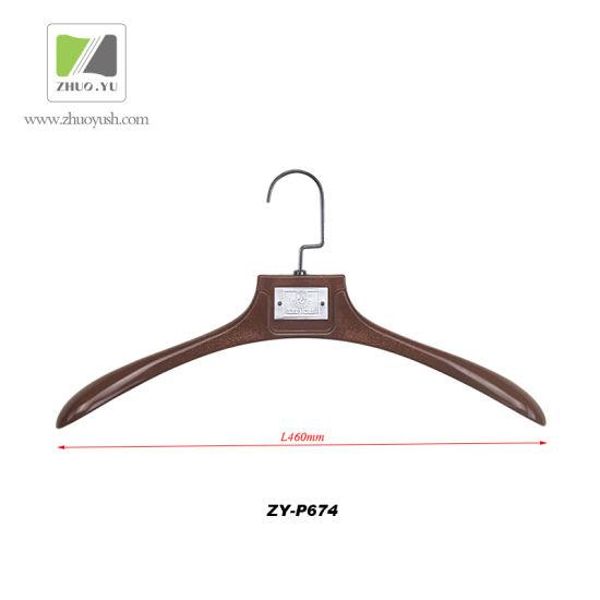 Custom Solid Plastic Clothes Hanger For Men