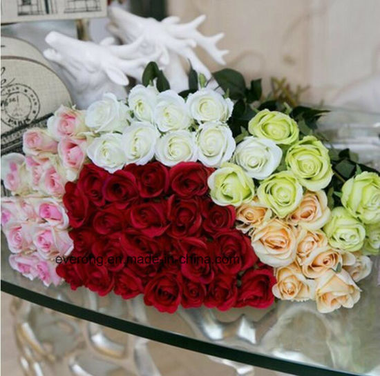 China romantic artificial silk rose for valentines day wholesale romantic artificial silk rose for valentines day wholesale faux silk rose flowers bouquets artificial roses uk mightylinksfo