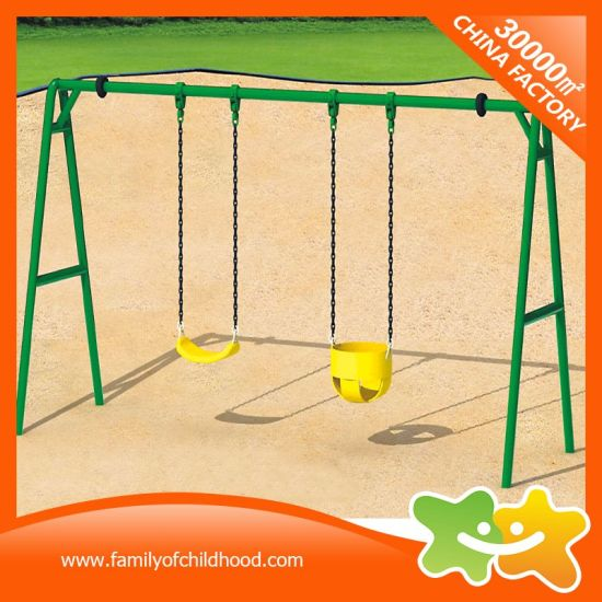 Mini Kids Playground Double Swings for Sale